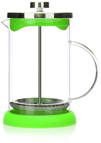 COM-FOUR Macchina da caff con sistema French-Press - La macchina da caff funge anche da macchina da...