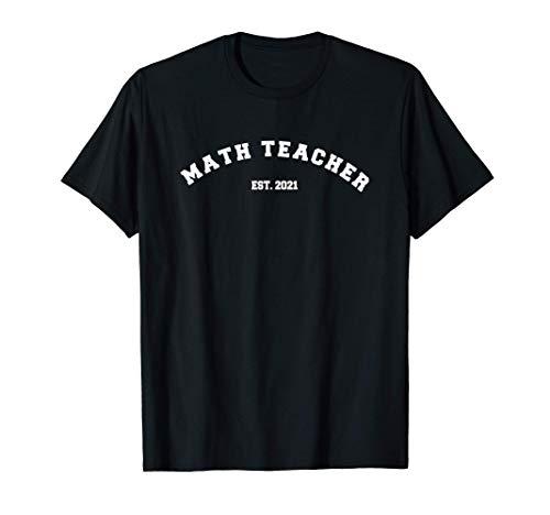 Math Teacher 2021 Est Math Lover New Math Teacher Gifts...