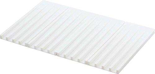 折り畳み水切りトレー タワー/ホワイト