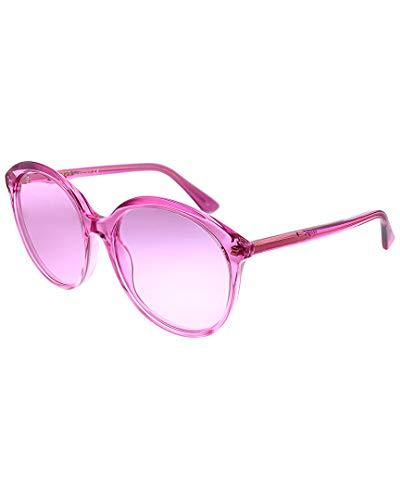 Frame Color: Fuchsia Lens Color: Pink Frame Material: Acetate
