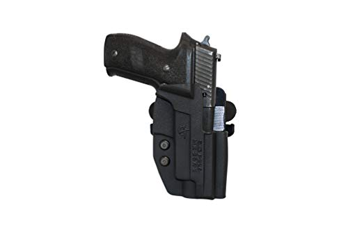 Comp-Tac Paddle Modular Outside The Waistaband Kydex Holster, Black C241GL065RBKN