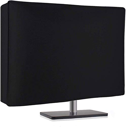Dorca Best Protective Monitor Dust Cover for Acer 24 inch (60.96 cm) GN246HL 3D Gaming Monitor -Black