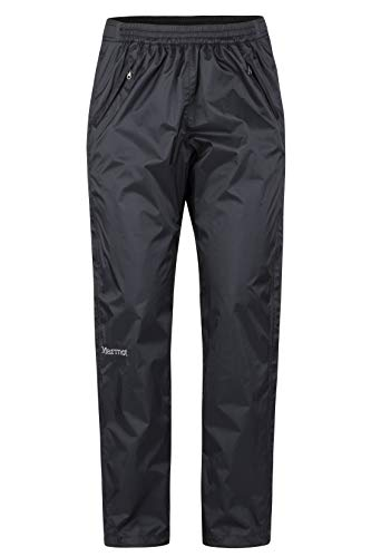Marmot Women's PreCip Eco Full Zip Pant - Black - Medium