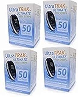 Ultra TRAK Ultimate 50ct Test Strips, 1 box of 50