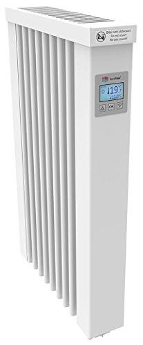 AeroFlow Elektroheizung MINI 650 mit Schamottekern app-ready FlexiSmart-Displayregler (Android, iOS) elektrische Zusatzheizung, Nachtspeicher Ersatz, Elektroheizkörper-Heizgerät