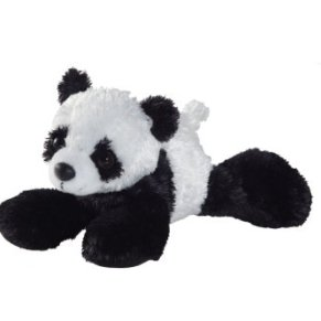 Aurora World- Panda de Peluche, colección Mini Flopsie, 21 cm (12756)
