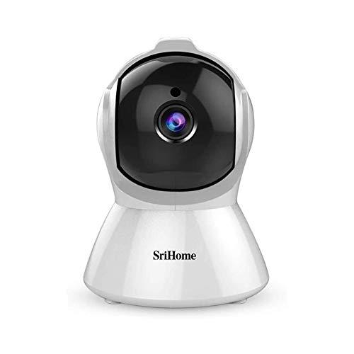 telecamera wi-fi interno senza fili 1080P telecamera ip interno videosorveglianza wifi telecamera sorveglianza wifi videocamera Audio Bidirezionale, Modalità Notturna a Infrarossi