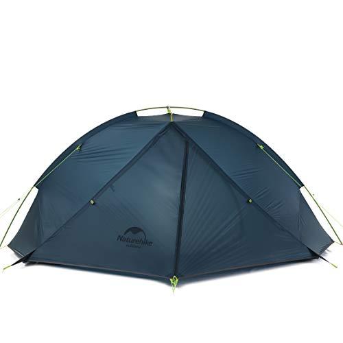 Naturehike Taga Ultralight Rucksack Zelt eine Ebene Radfahren Zelt für 1/2 Person (dunkelblau 2Person)