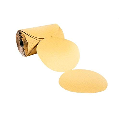 VSM 56308 PSA Paper Disc Roll, 5' Diameter, 80 Grit, Aluminum Oxide (Pack of 100)