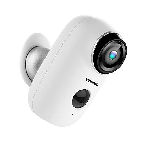 Wireless Rechargeable Battery Powered WiFi Camera, Home...