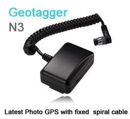 Solmeta Geotagger N3 Kamera-GPS-Empfänger & Auslöser für Nikon D5, D810A, D810, D800, D800E, D4, D3-Serie, D700, D300s, D300, D2x, D2xs, D2Hs, D200