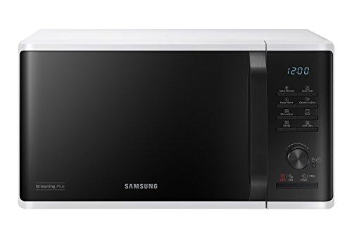 Samsung Microonde Grill Advanced - Forno a Microonde, Funzione scongelamento rapido, 23 Litri, 800 +1100 W, Bianco