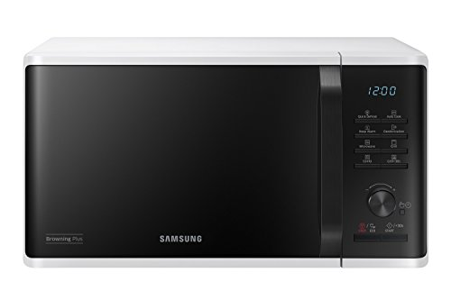 Samsung MG23K3515AW Forno Microonde Grill Combinato, 23 Litri, 800 W, Grill 1100 W, Bianco