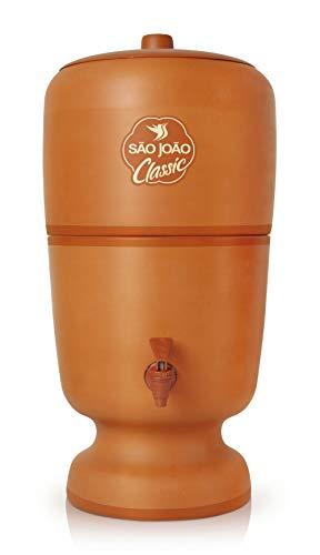 Filtro de Água Classic São João 6 Litros com Vela Tripla Ação e Boia
