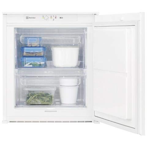 Electrolux EUB2AF60S Congelatore Verticale, Altezza 60 cm, Bianco