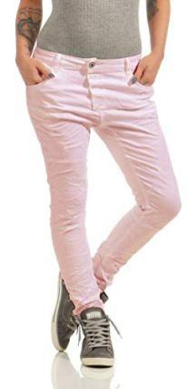 Lexxury-4325-Damen-Jeans-Rhrenjeans-Hose-Boyfriend-Baggy-Damenjeans-Knopfleiste