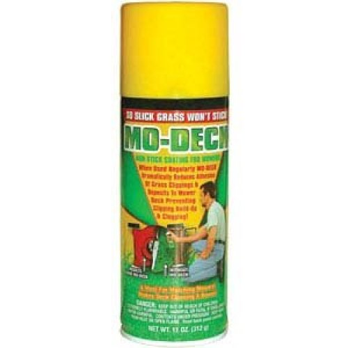 Mo Deck Non Stick Mower Blade / Deck Spray 11 oz for Mulching, Commercial or Reel Mower