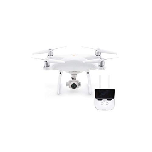 DJI - Drone Phantom 4 PRO Plus V2.0 - Versione EU, Riprende Video 4K/60fps e Scatta Immagini in modalit Burst a 14 Fps, Telecomando con Monitor Integrato - Bianco