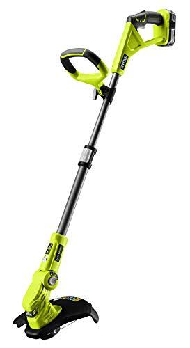 Ryobi RLT183225F - Tagliaerba, 18 V, larghezza di taglio 25-30 cm, con manico telescopico, con...