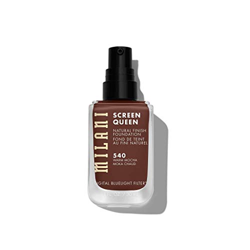 Product Image 2: Milani Screen Queen Liquid Foundation Makeup - Cruelty Free Foundation With Digital Bluelight Filter Technology (Warm Mocha)