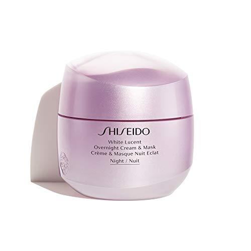 White Lucent by Shiseido Overnight Cream & Mask...