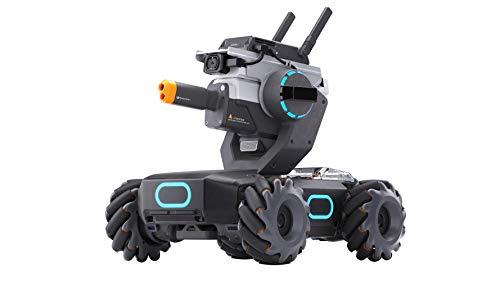 DJI RoboMaster Innovativo, Tecnologia IA (Intelligenza Artificiale), Riconosce Gesti, Suoni ed Altri Robot S1, Potente Processore, FPV HD a Bassa Latenza, Ruote 4x4, Corazza Intelligente, DJIRMS1-EU