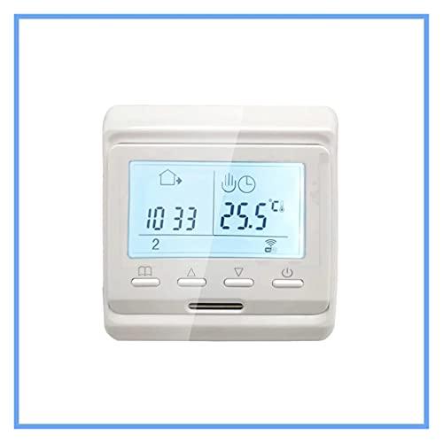 liuchenmaoyi Brosse en Acier 220 -V 3A 16A Contrôleur de température du Thermostat de TUYA Smart Smart WiFi pour Eau/Chauffage au Sol électrique Eau/chaudière à gaz Outils de récupération.