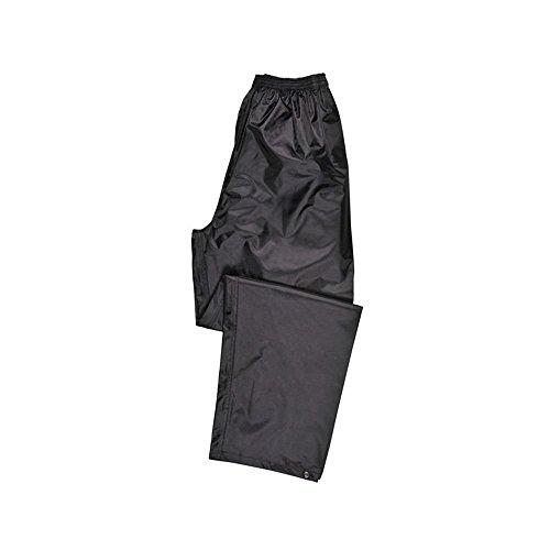Portwest Pantalon de Pluie Unisex Classic, Couleur: Noir, Taille: XL,...