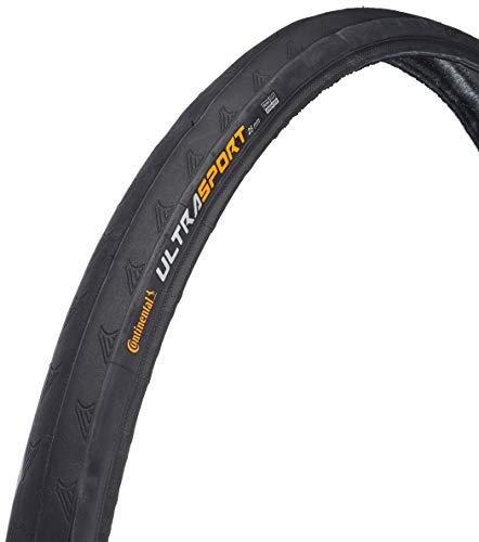 Continental Ultra Sport II Bike Tire, Black, 700cm x 25