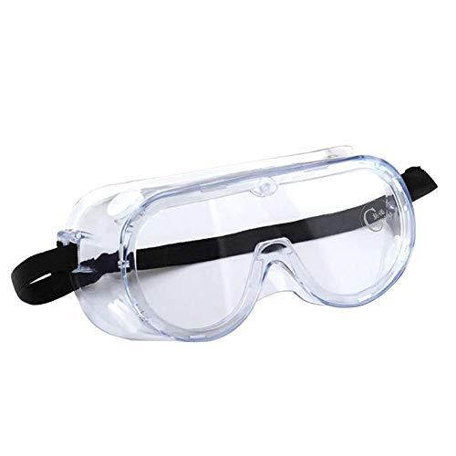 MZY1188 Occhiali di Protezione - Antiappannamento Antivandalo Antivento Trasparente Occhiali...