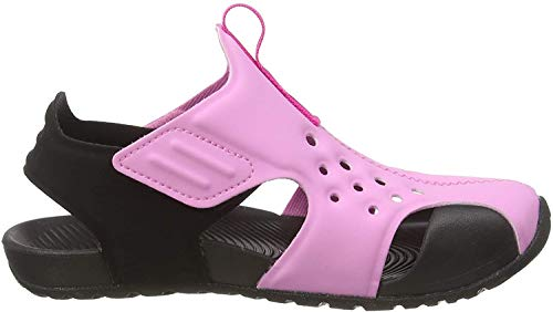 Nike Sunray Protect 2 (PS), Zapatos de Playa y Piscina para Niños, Multicolor (Psychic Pink/Laser Fuchsia/Black 602), 35 EU