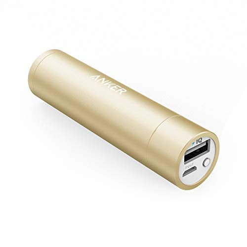 Anker Batteria Portatile USB PowerCore Mini 3350 mAh - Caricabatteria Portatile di Piccole Dimensioni da 3350 mAh - Batteria Esterna Power Bank Tascabile per Huawei, Samsung, iPhone, ASUS, LG e Altri