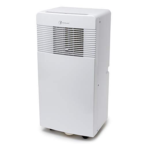 HAVERLAND IGLU-7 | Aire Acondicionado Portátil | 7000BTU | 320 m³ / h | Bajo Consumo | 3 en 1 Enfría, Ventila y Deshumidifica | Mando a Distancia | Kit Ventana Incluido