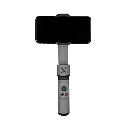 Zhiyun Smooth-X Foldable Smartphone Gimbal Stabilizer Selfie Stick for iPhone 11 Pro Xs Max Xr Huawei Samsung Vlog Youtuber (Gray)