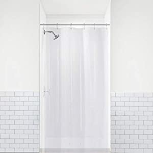 MILDEW RESISTANT- Proprietary Mildew Treatment inhibits mildew growth 4x longer than any other shower liner you'll find on the market! An active agent with odor protection that works to stop microorganism growth before it can even start, protecting y...