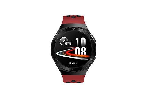 Huawei 55025280 Watch GT 2e Sport - Smartwatch de AMOLED pantalla de 1.39 pulgadas, 2 semanas de batería, GPS, Rojo (Lava Red), 46 mm