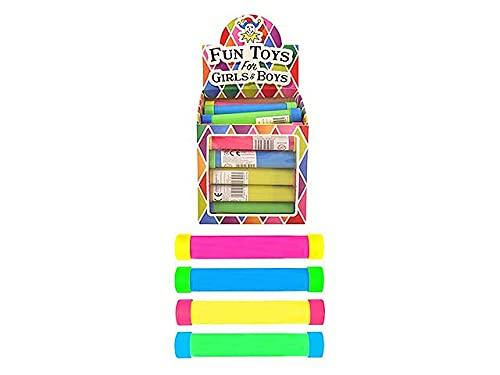 Zeus Party Tubo Sonoro Scherzo Giocattolo Divertente Tubi Sonori Colorati da 13,5cm Bastoncini Musicali con Effetti Sonori Mini Bastone LOL (10 Tubi)