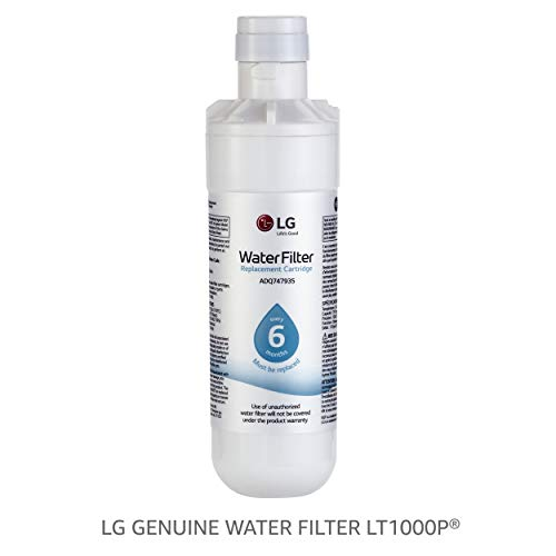 LG LT1000P - 6 Month / 200 Gallon Capacity Replacement Refrigerator Water Filter (NSF42, NSF53, and NSF401 ADQ74793501, ADQ75795105, or AGF80300704