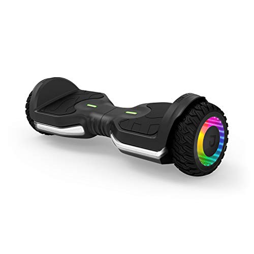 Jetson Flash Self Balancing Hoverboard with Built in Bluetooth Speaker | Includes All...