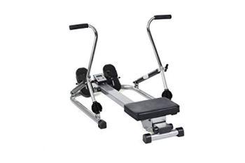 O'Fitness - Rameur Scandinave , Mixte Adulte, Blanc , 120 x 80 x 30 cm
