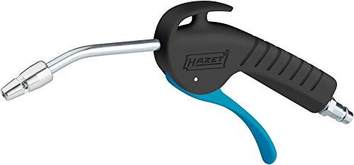 HAZET Ausblaspistole (mit blockierungsfreier Venturidüse, Betriebsdruck: 6 bar, ergonomischer Handgriff mit optimierter Übersetzung) 9040P-4