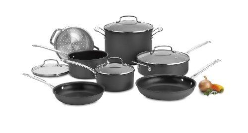 Cuisinart Chef's Classic Nonstick Hard-Anodized 11-Piece Cookware Set