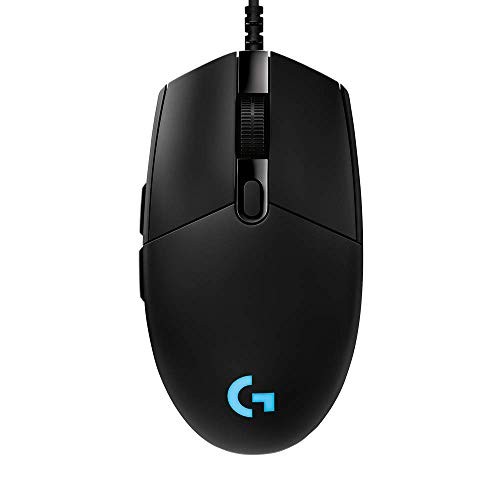 Logitech G PRO Hero Gaming Mouse, Black