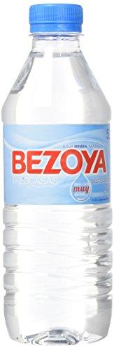 Bezoya Agua Mineral Natural Botella 50cl - Pack de 12
