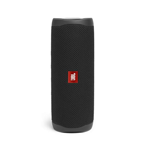 JBL Flip 5 – Enceinte Bluetooth portable robuste – Conception étanche pour piscine & plage – 12 heures d'autonomie – Son unique de JBL – Noir