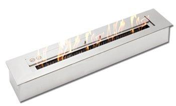 Long 4 Liters Bioethanol Burner| Stainless Steel Bioethanol Wall Fireplace