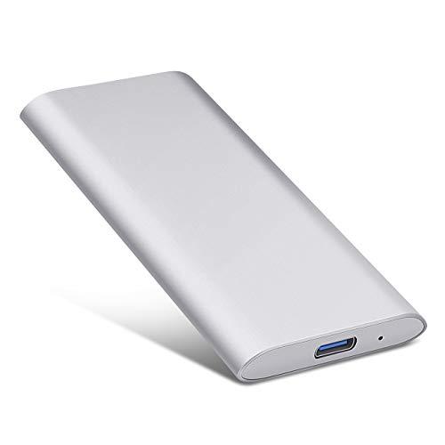 Hard Disk Esterno 1tb Portatile USB3.1 SATA HDD Storage per PC, Mac, Desktop, Laptop, MacBook,...