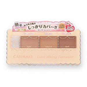 Canmake La Mezcla Puede Hacer Que el Corrector 01 3,9 g de Color Beige Claro