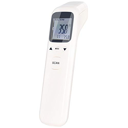 Ear Thermometer- Thermometer for Fever - Forehead and Ear Thermometer - Baby Thermometer for Kids and Adult - Infrared Digital Thermometer Medical - Body Surface Room