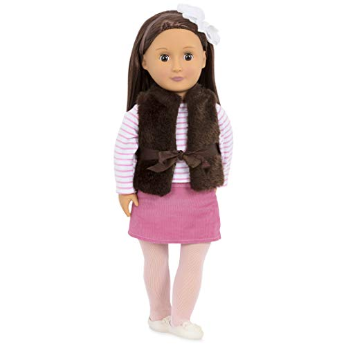 Our Generation Doll by Battat - Sienna 18' Regular Non-Posable Fashion Doll- for Age 3 years & Up